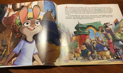 ZOOTOPIA Read-Along 絵本
